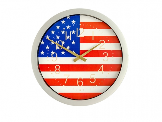 14 inches promotional clock